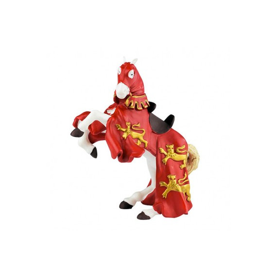 Cheval du Roi Richard rouge, figurine PAPO 39340