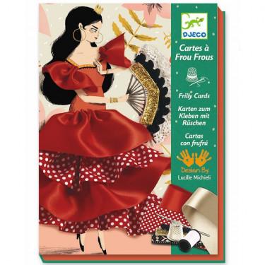 Cartes à frou-frous 'Flamenco' DJECO 8674