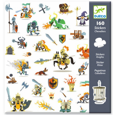 Stickers Chevaliers Djeco 8886