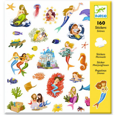 Stickers Sirènes Djeco 8885