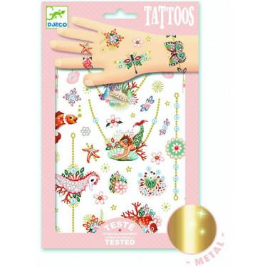 Tatouages 'Les bijoux de Fiona' DJECO 9586