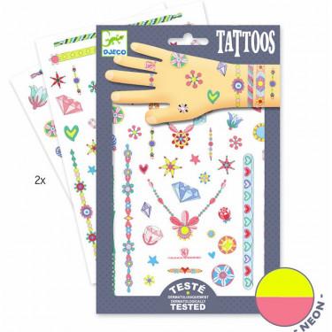 Tatouages 'Les bijoux de Jenni' DJECO 9587