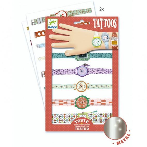 Tatouages 'Les montres de Wendy' DJECO 9588