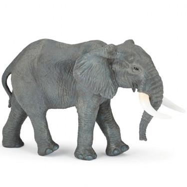 Grand éléphant d'Afrique, figurine géante PAPO 50198