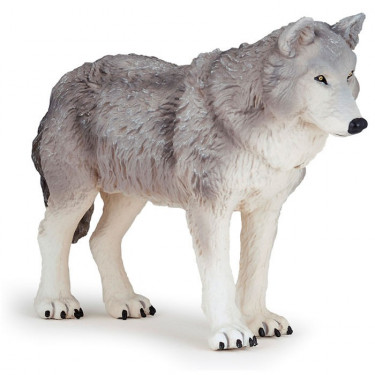 Grand loup, figurine géante PAPO 50211