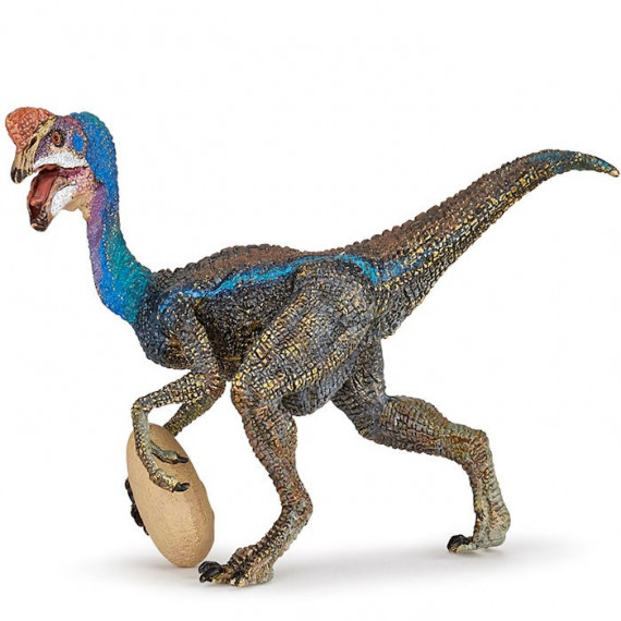 Oviraptor bleu, dinosaure Papo 55059