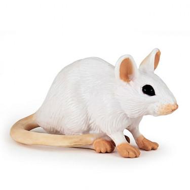 Souris blanche, figurine PAPO 50222