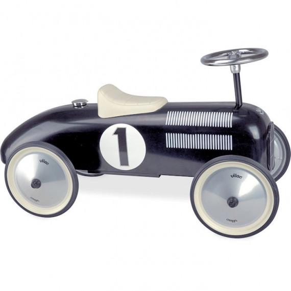 Porteur voiture métal vintage noir VILAC 1121
