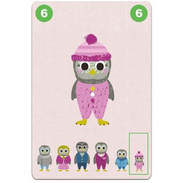 Familou, jeu de 7 familles coopératif DJECO 5103
