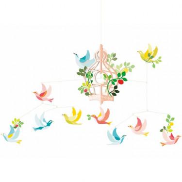 La cage aux oiseaux, mobile DJECO 4302