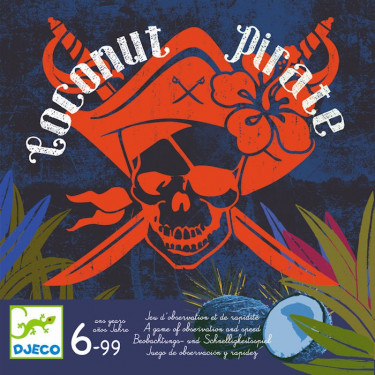 Coconut Pirate, jeu DJECO 8460