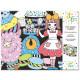 """Frise velours à colorier """"Sweet parade"""" DJECO 9625"""