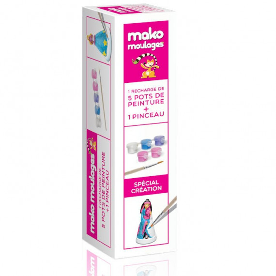 Mako Moulages Recharge de peinture 'girly' 39026