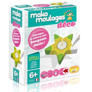 Mako Moulages déco 'Bougeoir étoile' 39303
