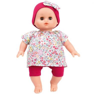 """Poupée petit câlin Ecolo doll """"Anémone"""" 28cm Petitcollin"""
