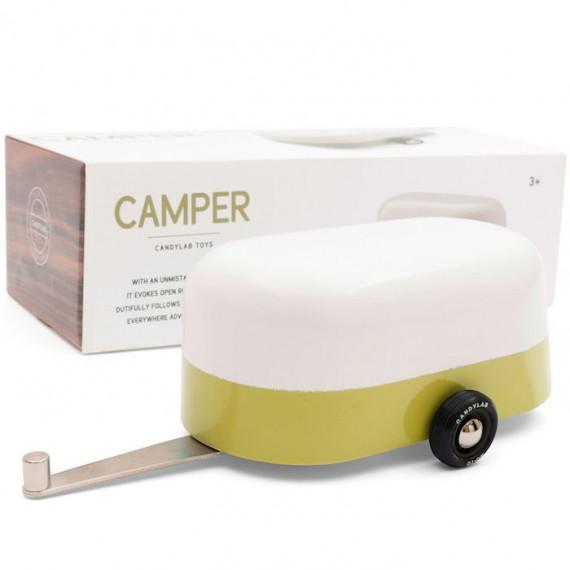 caravane Camper verte Candylab TOYS