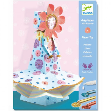 Arty Paper DJECO 'Miss Blossom' 9666