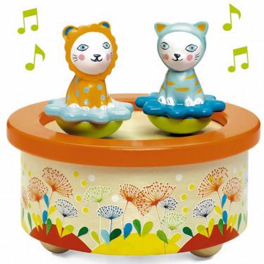 """Boîte à musique magnétique """"Twins Melody"""" DJECO 6055"""