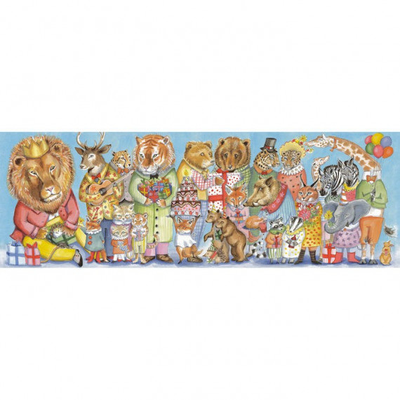 Puzzle King's Party 100 pcs DJECO 7639