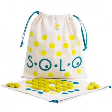 SOLO, jeu de solitaire Les Jouets Libres