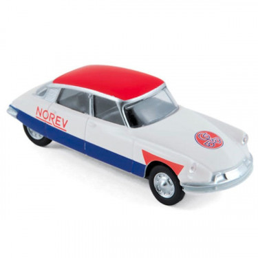 "Citroën DS19 1958 ""Blue White Red"" course cycliste"