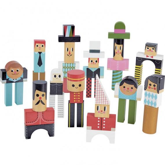Les bonhommes en cubes VILAC 7717