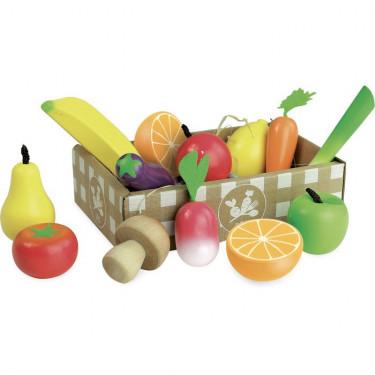 Set de fruits et légumes 'jour de marché' VILAC 8103