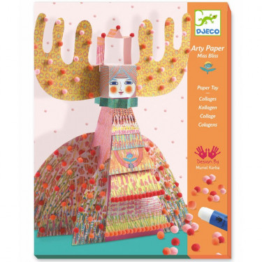 Arty Paper DJECO 'Miss Bliss' 9665