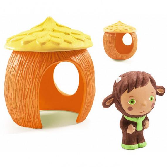 Casachou, figurine et cabane Artychou Djeco 9131