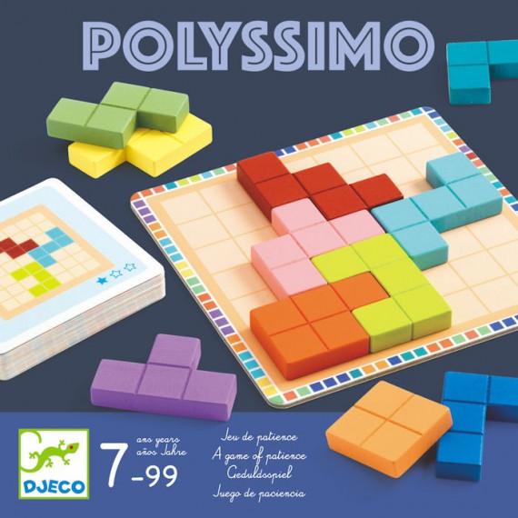 Polyssimo, jeu de patience DJECO 8451