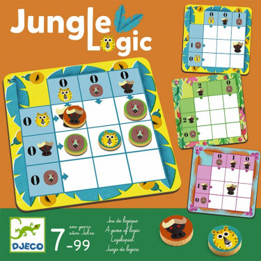 Jungle Logic, jeu DJECO 8450