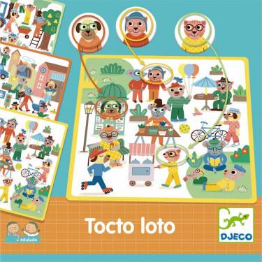 Eduludo Tocto Loto DJECO 8311