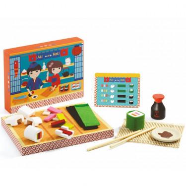 Dinette sushi Aki et Maki DJECO 6537