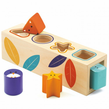 Boîte à formes en bois 'BoitaBasic' DJECO 6202