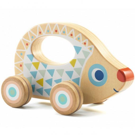 BabyRouli, hérisson à roulettes DJECO 6106