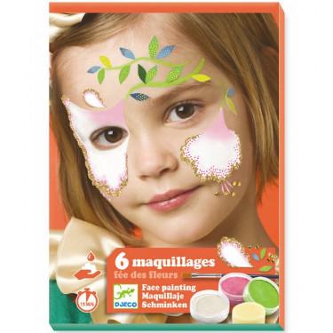 Coffret maquillage enfant 'Fée des fleurs' DJECO 9204