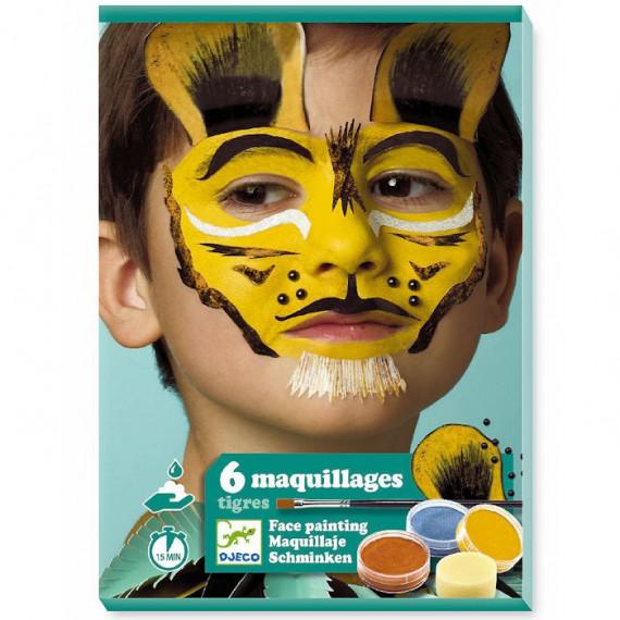 Coffret maquillage enfant 'Tigre' DJECO 9203