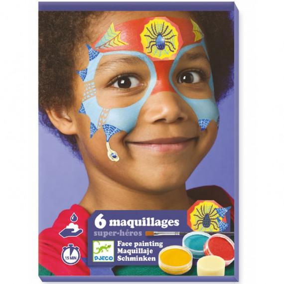 Coffret maquillage enfant 'Super héros' DJECO 9200