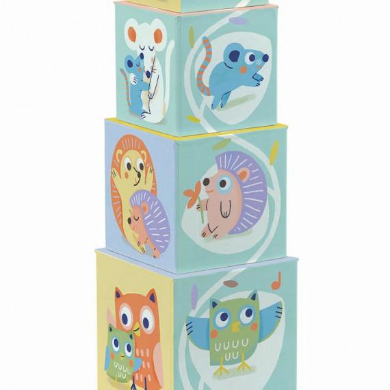 Baby Bloki, cubes DJECO 6103