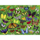 Puzzle '36 papillons' 100 pcs CROCODILE CREEK