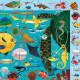 Puzzle 'Cherche & Trouve' Vie sous-marine 64 pcs Mudpuppy