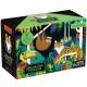 Puzzle qui Brille dans le Noir 'Forêt Tropicale' 100 pcs Mudpuppy