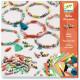 Perles de papier 'Bracelets de printemps' DJECO 9404