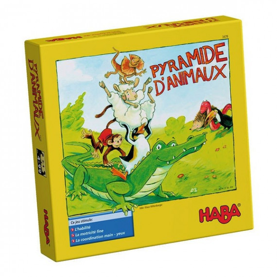 Pyramide d'animaux HABA 3478