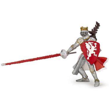 Roi au dragon rouge, figurine PAPO 39386