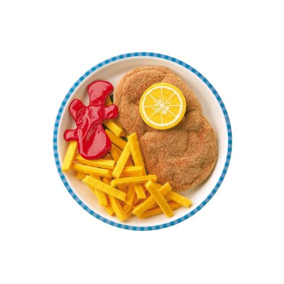 Escalope viennoise avec frites, jouet HABA 1474