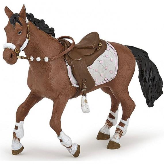 Cheval de la cavalière fashion hiver, PAPO 51553