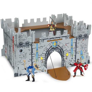 Coffret monde médiéval, château fort PAPO 80605