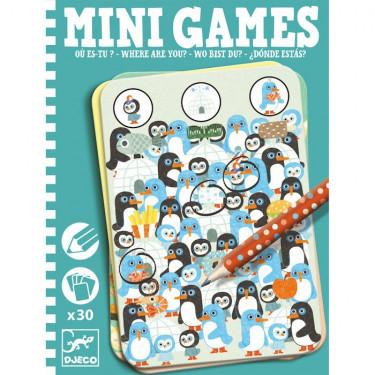 Où es-tu ? Mini Games DJECO 5332