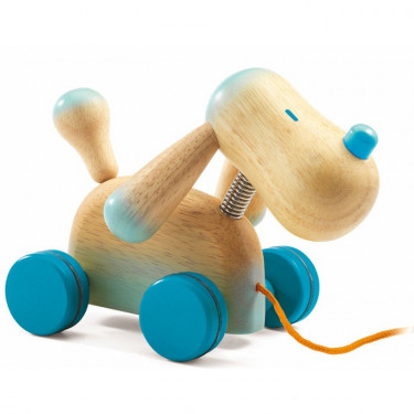 Jouet à traîner 'Doggy' DJECO 6256